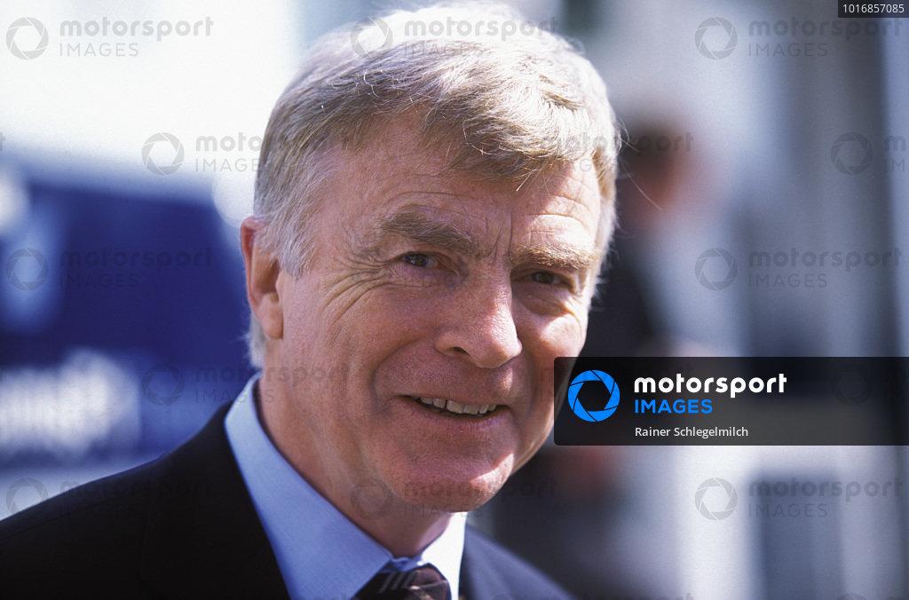 Max Mosley, FIA President.
