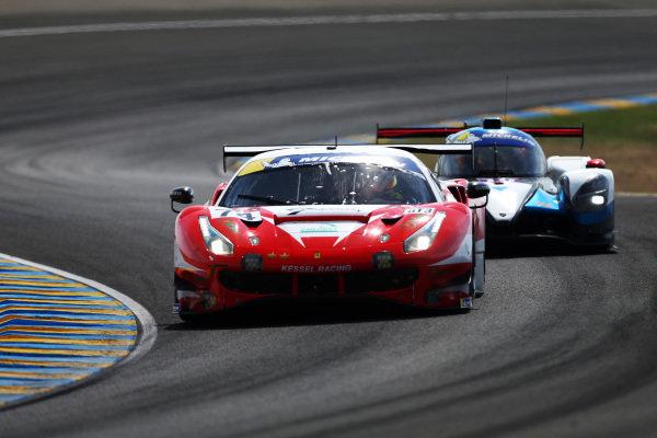 #74 Ferrari 488 GT3 / KESSEL RACING / Michael Broniszewski / David Perel