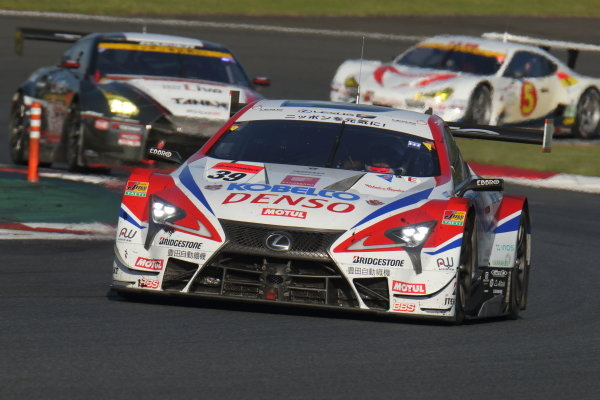 The second position duo of Heikki Kovalainen & Sho Tsuboi, Denso Kobelco SARD Lexus LC500.