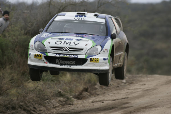2005 FIA World Rally Champs. Round nine, Rally Argentina 14th - 17th July 2005 Manfred Stohl, Citroen, action World Copyright: McKlein/LAT