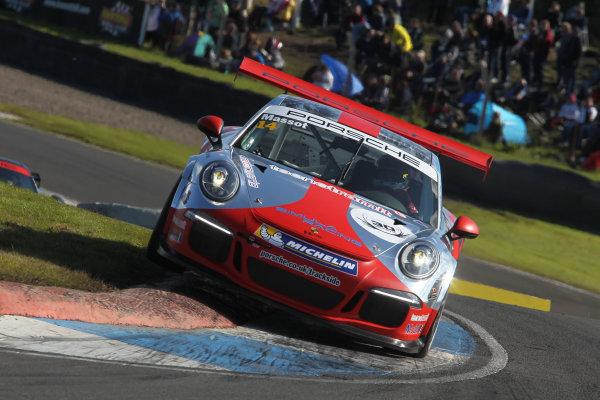 2014 Porsche Carrera Cup GB, Knockhill, 23-24 August 2014, Pepe Massot (ESP) Parr Motorsport Porsche World Copyright: Ebrey/LAT Photographic