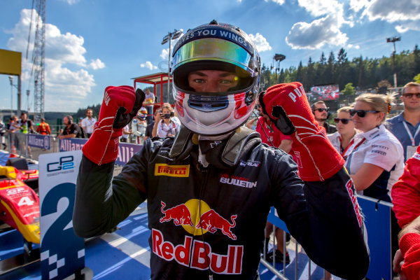 2016 GP2 Series Round 8.  Spa-Francorchamps, Spa, Belgium. Saturday 27 August 2016. Pierre Gasly (FRA, PREMA Racing)  Photo: Zak Mauger/GP2 Series Media Service. ref: Digital Image _L0U1104