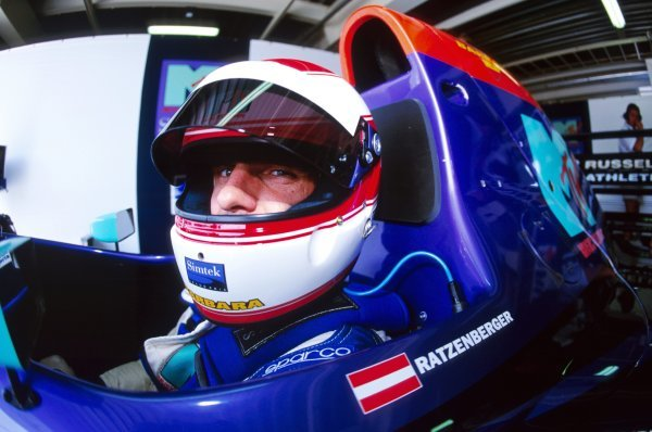Roland Ratzenberger (AUT) Simtek S941 finished eleventh in what would be his first and only GP start. Pacific Grand Prix, Rd 2, TI Circuit Aida, Japan, 17 April 1994.