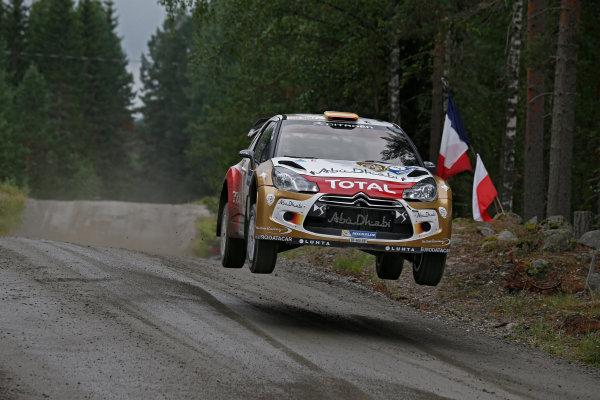 2013 FIA World Rally Championship Round 08-Rally Finland 31/7-3/8 2013. Dani Sordo, Citroen WRC, Action  Worldwide Copyright: McKlein/LAT