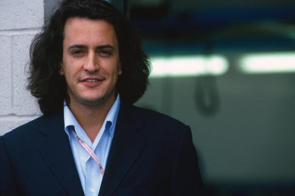 1998 British Grand Prix. Silverstone, England. 10th - 12th July 1998. Rd 9. Benetton Team Manager, Rocco Benetton, portrait.  World Copyright: Steven Tee/LAT Photographic. Ref:  98 RoccoB 05