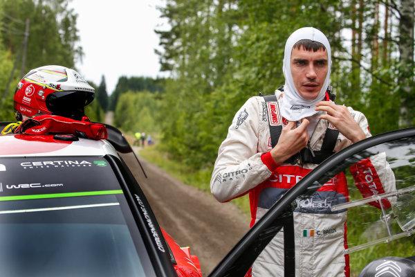 2017 FIA World Rally Championship, Round 09, Rally Finland / July 27 - 30, 2017, Craig Breen, Citroen WRC, Portrait Worldwide Copyright: McKlein/LAT