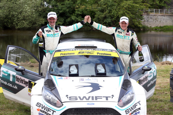 2017 British Rally Championship, Nicky Grist Stages, 8th-9th Juy 2017, Matt Edwards / P Clarke Ford Fiesta R5 World copyright. JEP/LAT Images