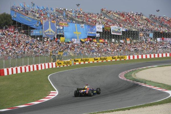 2007 GP2 Series. Round 2. Sunday RaceBarcelona, Spain. 13th May 2007. Javier Villa (ESP, Racing Engineering). Action. World Copyright: Andrew Ferraro/GP2 Series Media Sevice  ref: Digital Image ZP9O7112