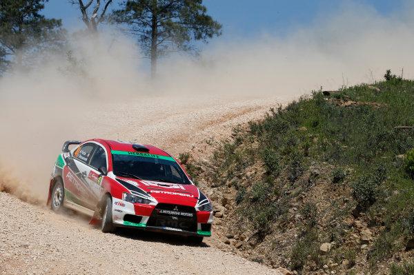 2013 World Rally Championship Rally Portugal 11th - 14th April 2013 Nicolas Fuchs, Mitsubishi, action Worldwide Copyright: McKlein/LAT