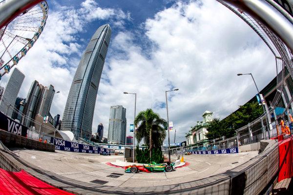 2016/2017 FIA Formula E Championship. Hong Kong ePrix, Hong Kong, China. Sunday 9 October 2016. Lucas Di Grassi (BRA), ABT Schaeffler Audi Sport, Spark-Abt Sportsline, ABT Schaeffler FE02.  Photo: Zak Mauger/LAT/Formula E ref: Digital Image _L0U1268