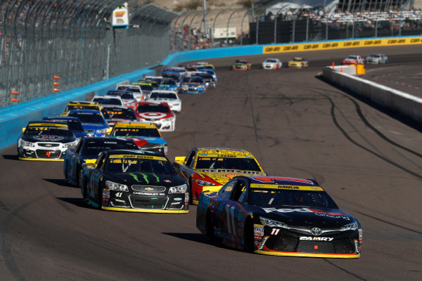 12-14 November, 2016, Avondale, Arizona,  USA , Denny Hamlin, FedEx Ground Toyota Camry ?2016, Michael L. Levitt LAT Photo USA