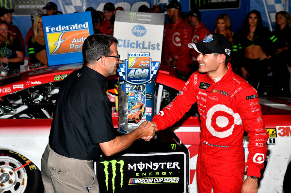 Monster Energy NASCAR Cup Series Federated Auto Parts 400 Richmond Raceway, Richmond, VA USA Sunday 10 September 2017 Kyle Larson, Chip Ganassi Racing, Target Chevrolet SS wins World Copyright: Rusty Jarrett LAT Images