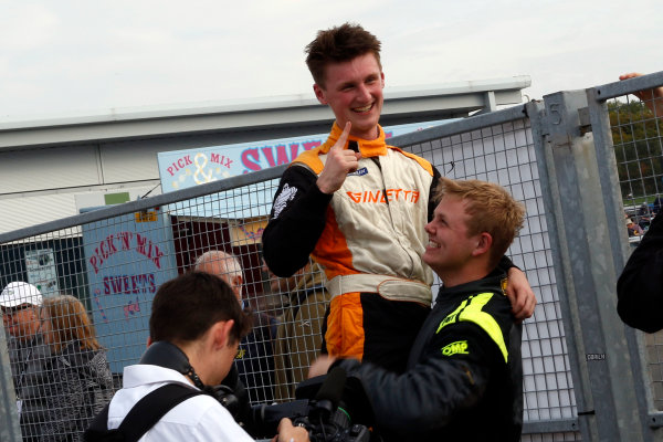 2017 Ginetta GT5 Challenge, Donington Park, Leicestershire. 23rd - 24th September 2017. Lewis Brown. World Copyright: JEP/LAT Images