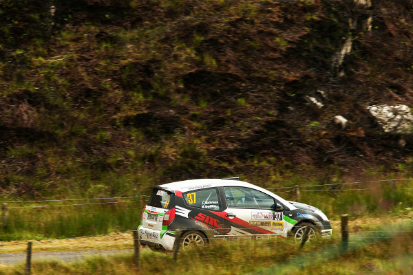 2017 British Rally Championship, Ulster Rally, Londonderry. 18th - 19th August 2017. Josh McErlean Citroen C2R2 Max World Copyright: JEP/LAT Images.