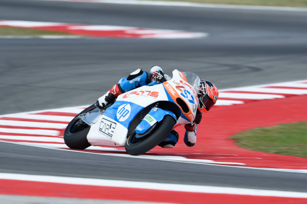 2017 Moto2 Championship - Round 13 Misano, Italy. Friday 8 September 2017 Edgar Pons, Pons HP 40 World Copyright: Gold and Goose / LAT Images ref: Digital Image 7490