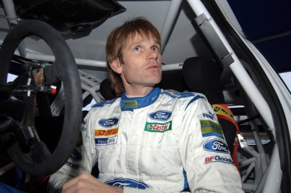 Marcus Gronholm (FIN) prepares for shakedown. Wales Rally GB Shakedown, Cardiff, Wales. 30 November 2006. DIGITAL IMAGE