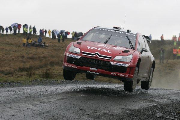 2007 World Rally Championship,Wales Rally GB, 30th November - 2nd December 2007,Dani Sordo, Citroen, ActionWorld Copyright: McKlein/LAT Photographic
