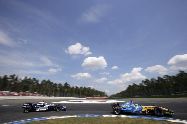Formula 1 Williams Photos: German GP, Hockenheimring (2006)