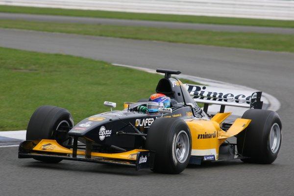 2006 F3000 ChampionshipSilverstone, England.13th August 2006T RochaWorld Copyright - Ebrey/LAT Photographic