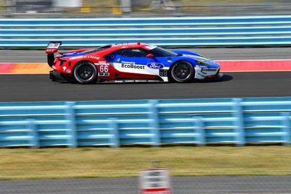 1-3 July, 2016, Watkins Glen, NewYork USA 66, Ford GT, GT, GTLM, Joey Hand, Dirk Muller ?2016, Richard Dole LAT Photo USA