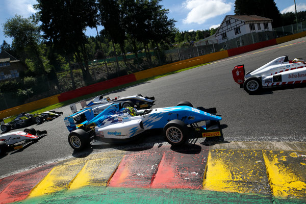 2016 BRDC F3 Championship, Spa-Francorchamps, Belgium. 7th - 9th July 2016. Enaam Ahmed (GBR) Douglas Motorsport BRDC F3. World Copyright: Ebrey / LAT Photographic.