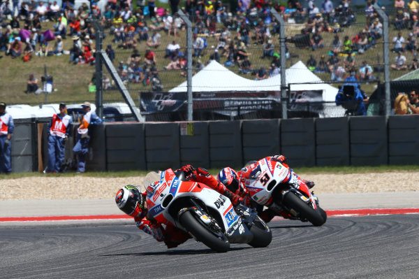 2017 MotoGP Championship - Round 3 Circuit of the Americas, Austin, Texas, USA Sunday 23 April 2017 Jorge Lorenzo, Ducati Team World Copyright: Gold and Goose Photography/LAT Images ref: Digital Image MotoGP-R-500-3028