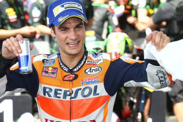 2017 MotoGP Championship - Round 5 Le Mans, France Sunday 21 May 2017 Third place Dani Pedrosa, Repsol Honda Team World Copyright: Gold & Goose Photography/LAT Images ref: Digital Image 671705