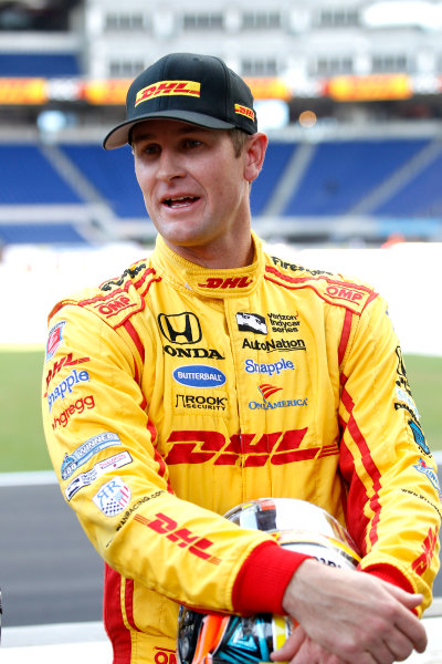 2017 Race of Champions Miami, Florida, USA Friday 20 January 2017 Ryan Hunter-Reay World Copyright: Alexander Trienitz/LAT Photographic ref: Digital Image 2017-24h-RoC-MIA-AT2-0033