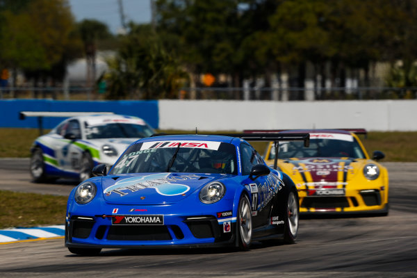 2017 Porsche GT3 Cup USA Sebring International Raceway, Sebring, FL USA Friday 17 March 2017 47, Andrew Longe, GT3P, USA, 2017 Porsche 991 World Copyright: Jake Galstad/LAT Images ref: Digital Image lat-galstad-SIR-0317-14857