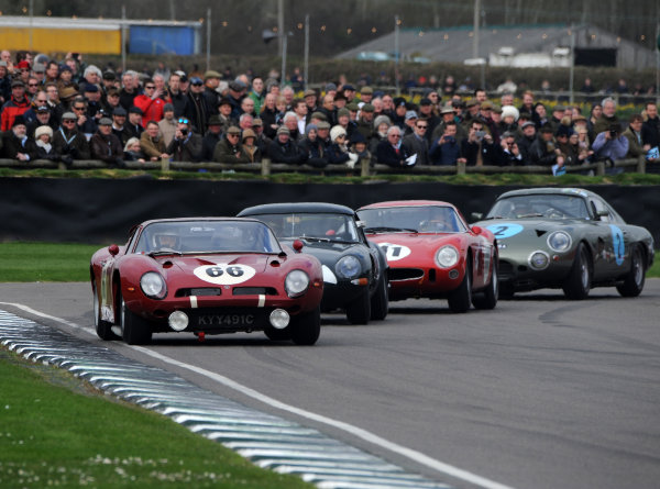 2017 75th Members Meeting Goodwood Estate, West Sussex,England 18th - 19th March 2017 Graham Hill Trophy Hall Fisken Bizzarin World Copyright : Jeff Bloxham/LAT Images Ref : Digital Image