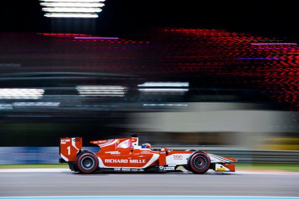 2017 FIA Formula 2 Round 11. Yas Marina Circuit, Abu Dhabi, United Arab Emirates. Friday 24 November 2017. Charles Leclerc (MCO, PREMA Racing).  Photo: Sam Bloxham/FIA Formula 2. ref: Digital Image _J6I1850