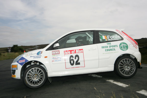 Manx International Rally, Isle of Man 10th-11th July,Ross Forde/Gary McElhinney Ford Fiesta STWorld Copyright: Jakob Ebrey/LAT Photographic