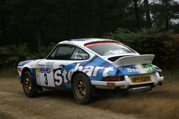 Perth, Scotland. 28th September 2008. Jim Mcrae/Andy Richardson - Porsche 911 RS. World Copyright: Ebrey/LAT Photographic