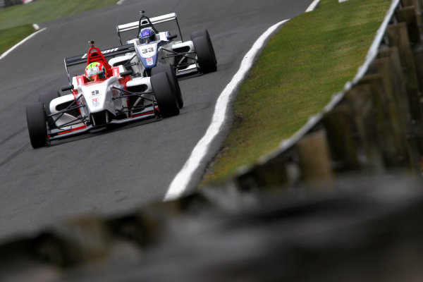 2015 BRDC Formula 4 Championship, Oulton Park, Cheshire. 4th - 6th April 2015. Rodrigo Fonseca (MEX) Lanan Racing BRDC F4. World Copyright: Ebrey / LAT Photographic.