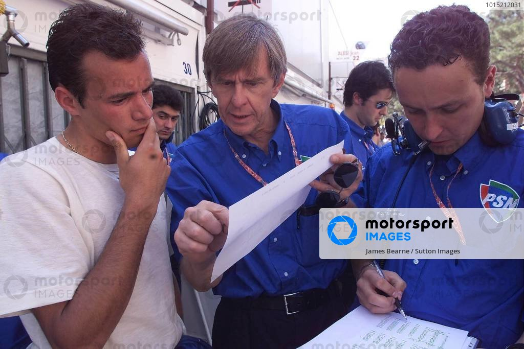 St?phane Sarrazin (FRA) F3000 Prost Junior TeamInternational F3000 Championship Qualifying, Monaco 25 May 2001DIGITAL IMAGE