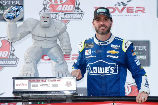 Monster Energy NASCAR Cup Series AAA 400 Drive for Autism Dover International Speedway, Dover, DE USA Sunday 4 June 2017 Jimmie Johnson, Hendrick Motorsports, Lowe's Chevrolet SS World Copyright: Matthew T. Thacker LAT Images ref: Digital Image 17DOV1mt1942