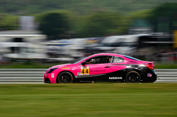 IMSA Continental Tire SportsCar Challenge Lime Rock Park 120 Lime Rock Park, Lakeville, CT USA Friday 21 July 2017 44, Nissan, Altima, ST, Sarah Cattaneo, Owen Trinkler World Copyright: Gavin Baker LAT Images