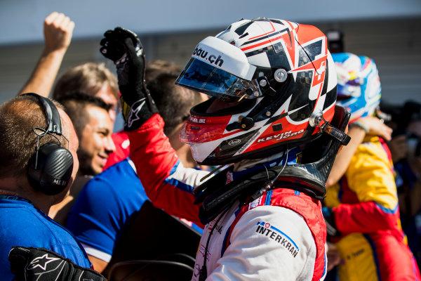 2017 GP3 Series Round 4.  Hungaroring, Budapest, Hungary. Sunday 30 July 2017. Kevin Joerg (SUI, Trident).  Photo: Zak Mauger/GP3 Series Media Service. ref: Digital Image _54I4374