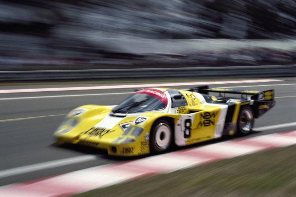 Mauricio DeNarvaez / Kenper Miller / Paul Belmondo, New-Man-Joest Racing, Porsche 956.