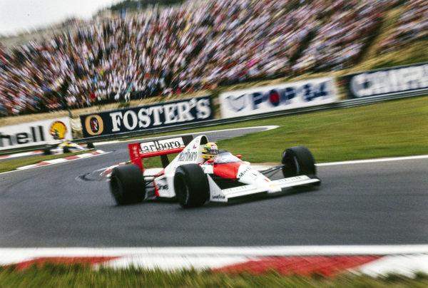 Ayrton Senna, McLaren MP4-5 Honda.