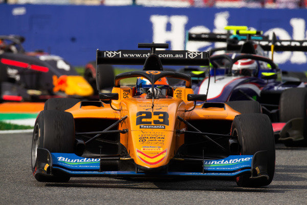 AUTODROMO NAZIONALE MONZA, ITALY - SEPTEMBER 07: Alexander Peroni (AUS, Campos Racing) during the Monza at Autodromo Nazionale Monza on September 07, 2019 in Autodromo Nazionale Monza, Italy. (Photo by Joe Portlock / LAT Images / FIA F3 Championship)