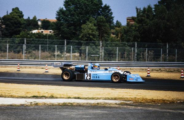 Gabriele Serblin, March 752 BMW.
