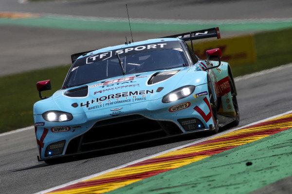 #33 TF Sport Aston Martin Vantage AMR: Ben Keating, Dylan Pereira, Felipe Fraga