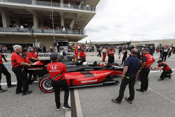 Honda fastest seat in sports, Helio Castroneves