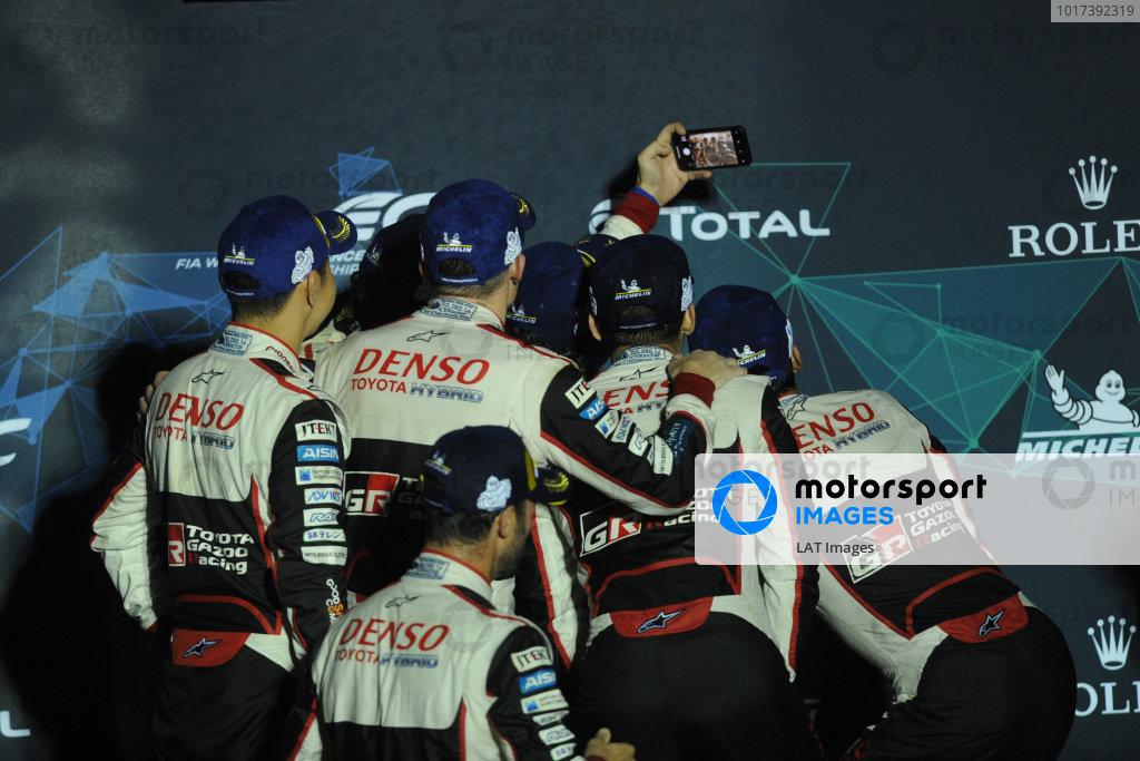 #8 Toyota Gazoo Racing Toyota TS050: Sébastien Buemi, Kazuki Nakajima, Fernando Alonso