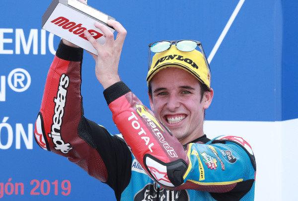 Podium: third place Alex Marquez, Marc VDS Racing