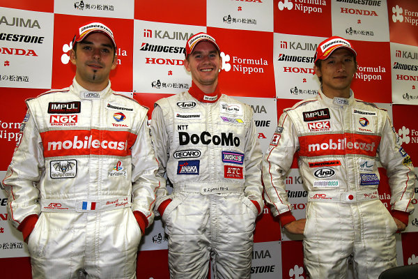 2004 Japanese Formula Nippon ChampionshipRd 4, Suzuka, Japan. 4th July.Winner Richard Lyons.World Copyright: Ishihara/LAT Photgraphicref: Digital Image Only
