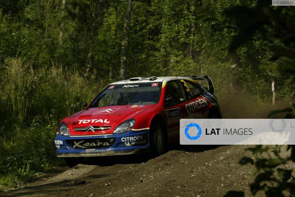 2004 FIA World Rally Champs. Round nine,