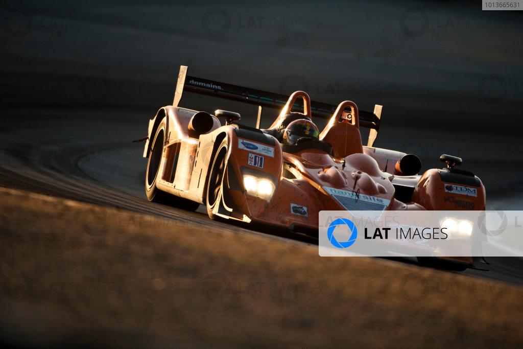American Le Mans Series. Laguna Seca, Monterey, California. 15th - 17th September 2011. Tony Burgees / Chris McMurry / Bryan Wilman, Autocon, Lola B06/10. Action. Photo: Drew Gibson/LAT Photographic. ref: Digital Image _Y2Z6999