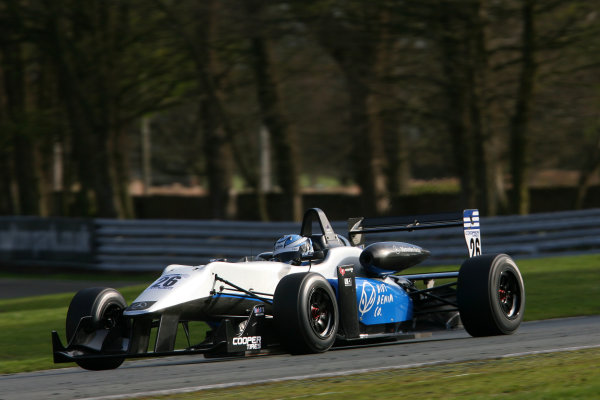 Oulton Park, Cheshire. 6th - 7th April 2012.Geoff Uhrhane (AUS) Double R Racing Dallara Mercedes.World Copyright: Ebrey/LAT Photographic.
